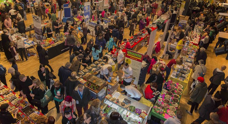 VegFest UK event crowd shot