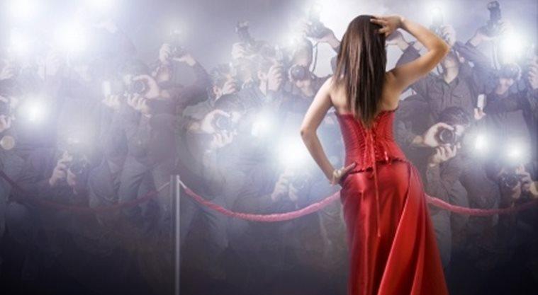 Red carpet publicity paparazzi fame
