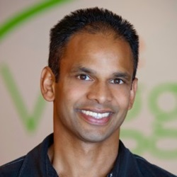 T.K. Pillan of Veggie Grill