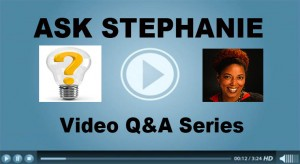 Ask Stephanie Vegan Business Media video column