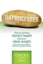 Unprocessed book cover by Chef AJ