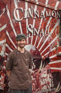 Adam Sobel of The Cinnamon Snail for Vegan Busines Talk with Katrina Fox of Vegan Business Media