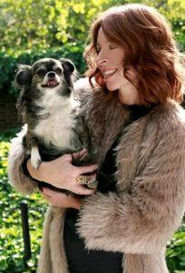 Vegan designer Anna Tagliabue of luxury faux fur brand Pelush for Vegan Business Talk with Katrina Fox of Vegan Business Media