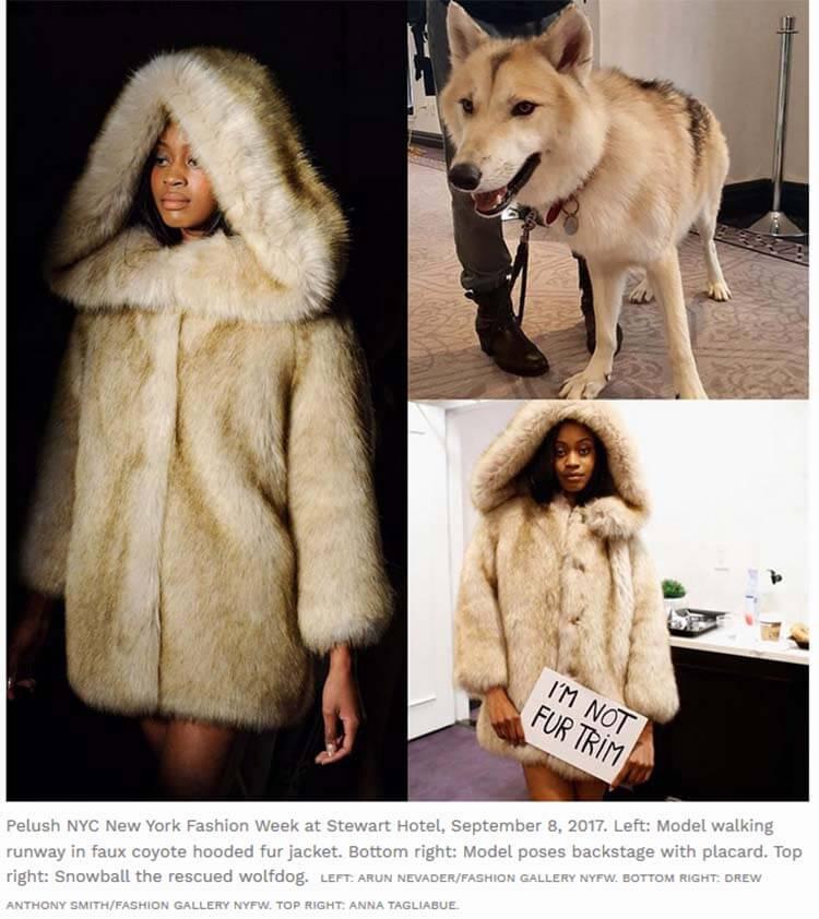 Pelush, faux fur