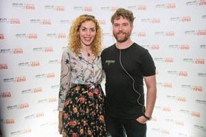 Judy Nadel and Damien Clarkson of Vevolution for Vegan Business Talk with Katrina Fox of Vegan Business Media